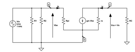 transistor lifier impedance lifier what is the input impedance of a transistor bjt electrical engineering stack