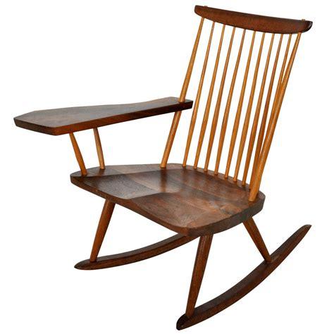best rocking chair george nakashima rocking chair at 1stdibs