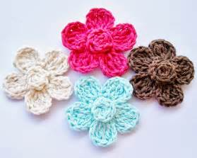 Free Easy Flower Crochet Patterns - flower cottage free crochet flower pattern