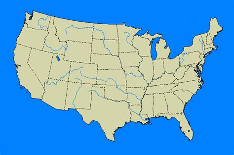 us map showing states only blank map directory united states alternatehistory wiki