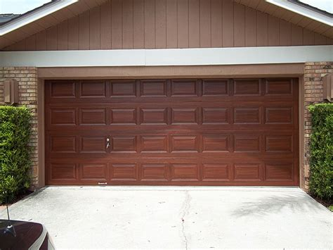 paint a metal garage door to look like wood everything i faux wood painting everything i create paint garage