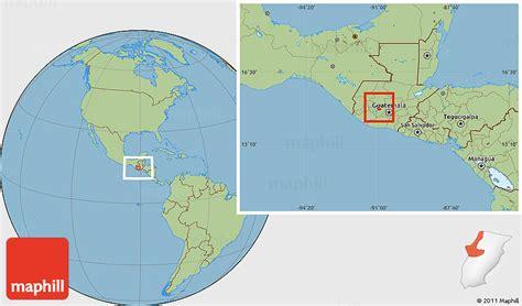 guatemala on world map savanna style location map of tecpan guatemala