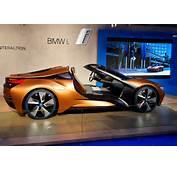 Car Pro BMW I8 Spyder I Vision Concept Shows Off Future Tech