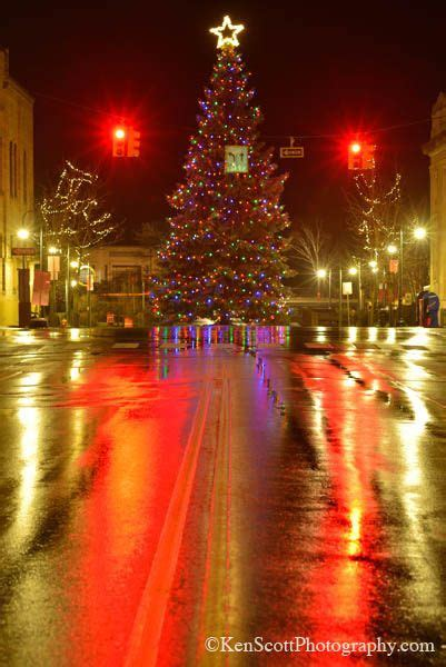 traverse city christmas tree michigan travel places to
