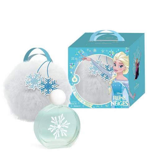 la reine des neiges coffret eau de toilette vaporisateur sac parfums enfant walt disney