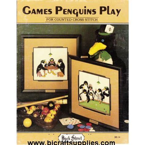 pattern play games cross stitch pattern books