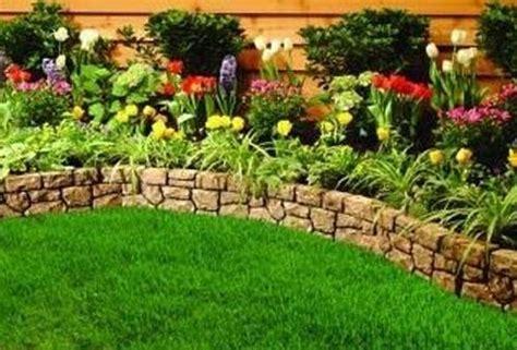 Pietre Per Giardino Progettazione Giardino Small Garden Border Ideas