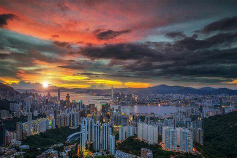 Landscape Architecture Hong Kong Landscape Of Air Balloon Hong Kong Sky With