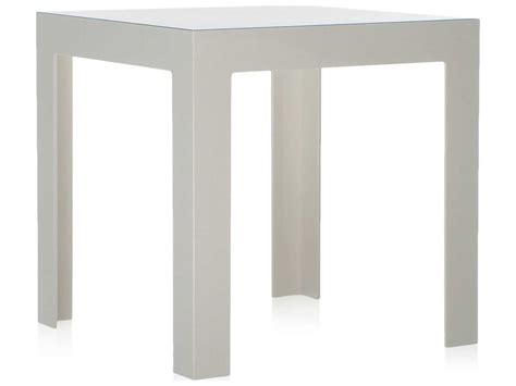 16 wide end table kartell jolly glossy white 16 wide square end table