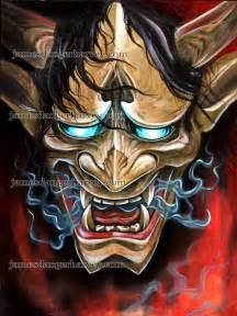 Oni hannya demon by jamesdangerharvey on deviantart