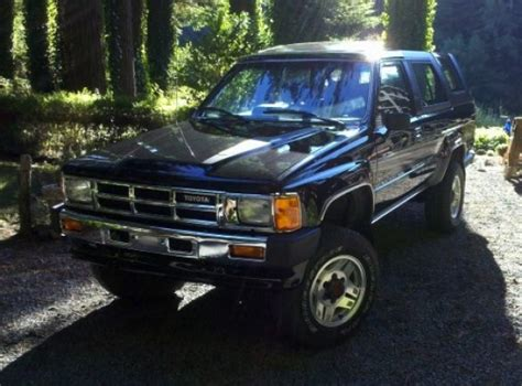 Toyota 4runner 1986 For Sale Pristine 1986 Toyota 4runner Sr5 Turbo Bring A Trailer