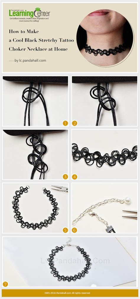 how to make a tattoo choker how to make a cool black stretchy choker necklace