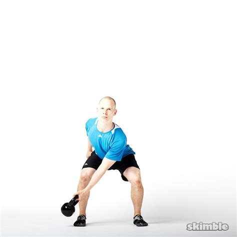 kettlebell side swing left lateral kettlebell swings exercise how to workout
