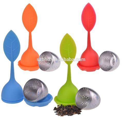 100 food grade silicone 100 food grade stainless steel silicone leaf tea