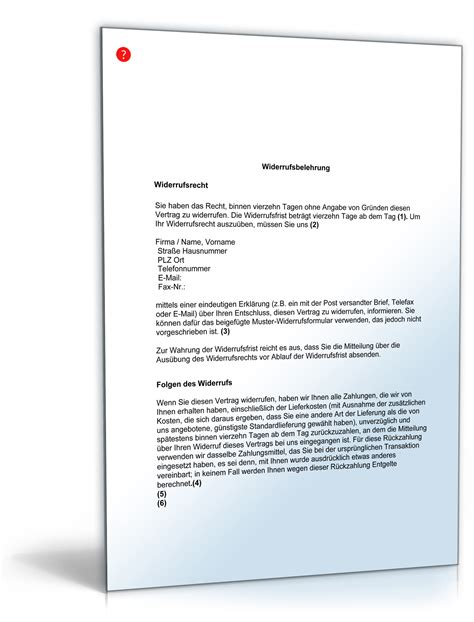 Musterbrief Widerspruch Steuererklärung Relevante Links Vodafone Widerruf Muster Adressen Konditionen So Klappt Der Widerruf Das
