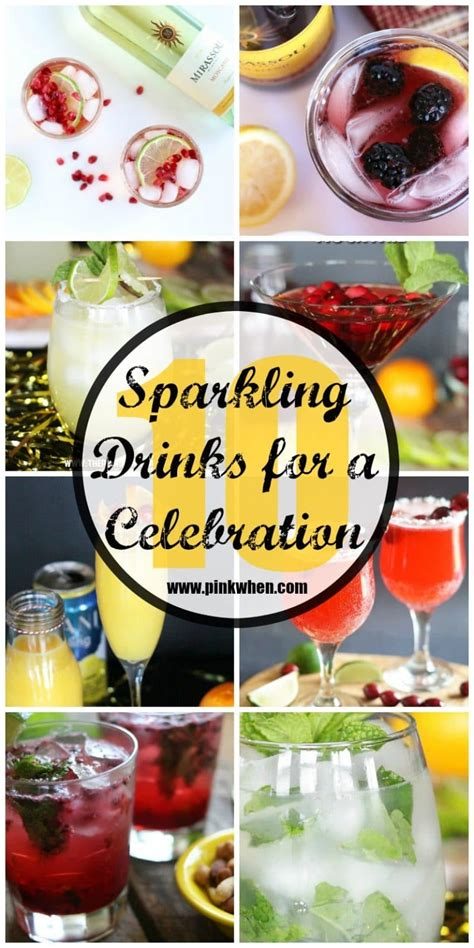 sparkling celebration punch recipe non alcoholic 10 sparkling drinks to keep you celebrating all pinkwhen