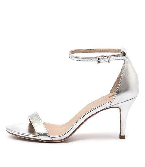 new i billy connie silver womens shoes dress sandals