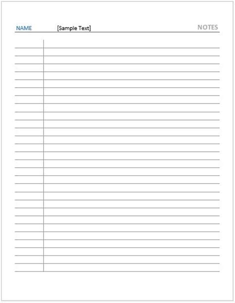 note paper templates for ms word word excel templates