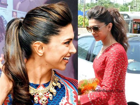 Deepika Padukone Hairstyle by Deepika Padukone Hairstyles Indian Tips