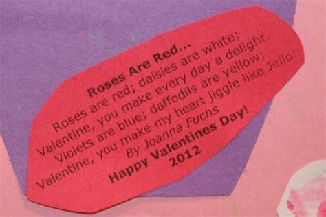 preschool valentines day poems preschool poems valentines day