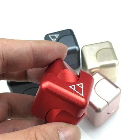 New Fidget Cube Fidget Spinner Cube Spinning Gyro new spinning cube novelty fidget spinner focus edc square metal ebay