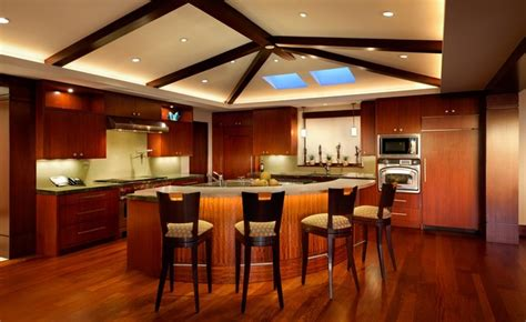 Tropical Kitchen Design by Hermosa Beach Residence Tropical Kitchen Los Angeles