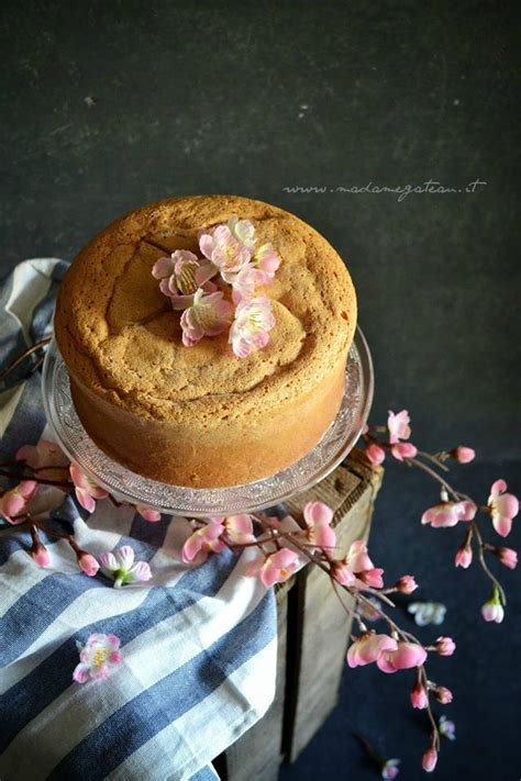Gluten Free Chiffon Cake 18cm pan di spagna