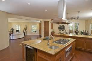 kitchen island with stove touches of montclair contemporary will awe and inspire prospective buyers sfgate