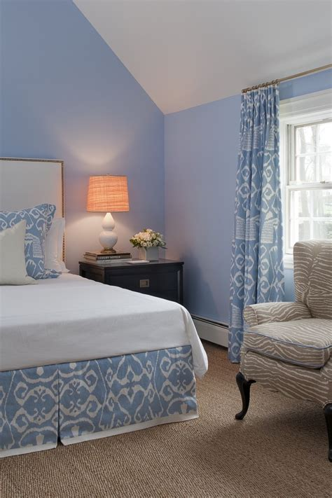 marvelous ikat bedding in bedroom traditional with blue and beige next to ceiling types
