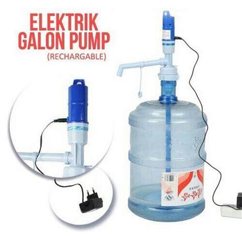 Pompa Galon Elektrik Electric Water Rechargable Keren jual beli pompa galon elektrik electric water