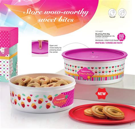 Tupperware Cookie Tin 2pcs Cenjaya Tuppy Tupperware Malaysia Flyer 2017 Edisi 1 31 Desember Quot Year End Bonanza Quot
