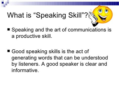 developing speaking skills in the y ls classroom ppt