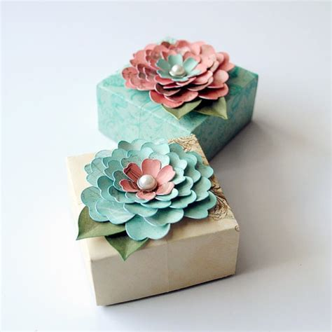 gift wrapping origami 2 origami gift boxes decorated with handcrafted by