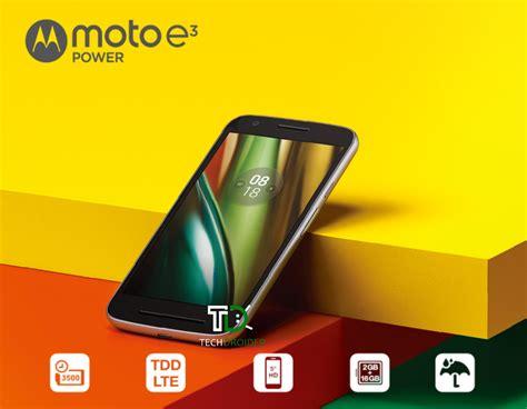 Motorola Moto E3 Power Ram 2gb Rom 16gb 5 lenovo to unveil moto e3 in india on 19th september