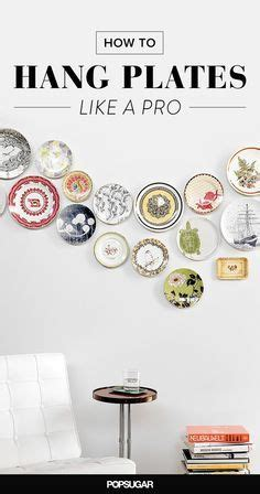 how to hang wall 1000 ideas about plates on wall on plate wall