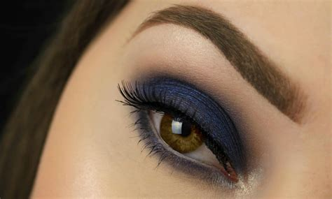 Eyeshadow Smokey blue smokey eye makeup makeup tips and review