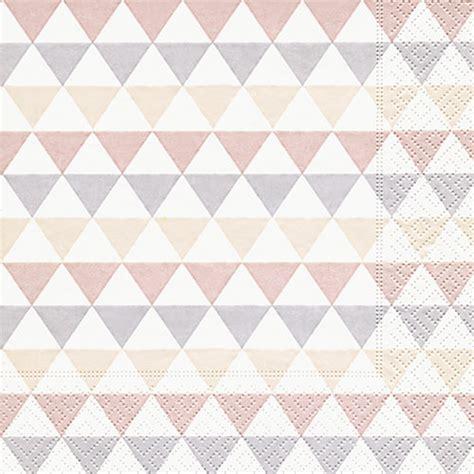 Home Design 20 X 40 by Servietten Dreiecke Muster 200121 Ganzjahres