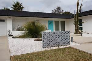 Ranch House Landscaping Ideas For Front Yard - mid century retro modern ranch house landscape