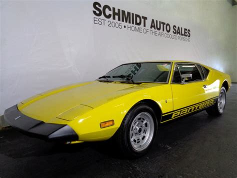 1974 DeTomaso Pantera L for sale