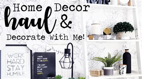 Elsewares Home Accessories And More by Home Decor Haul Decorate With Me Homesense B Bw