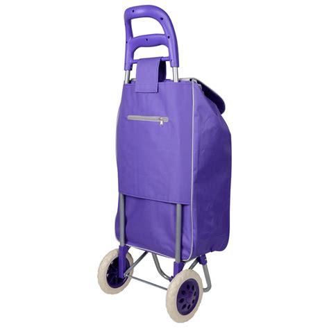 Funky Folding Music Festival Essential Shopping Trolley Luggage Bag With Wheels   eBay