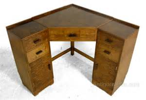 deco corner desk in maple c1930 antiques atlas
