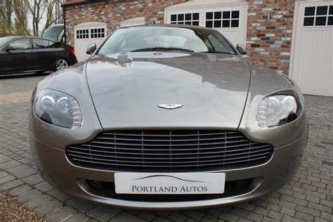 cheap aston martin for sale used 2005 aston martin vantage 4 3 v8 cheap tax two owners