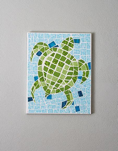 Paper Mosaic Crafts - 25 best fabric on canvas ideas on canvas