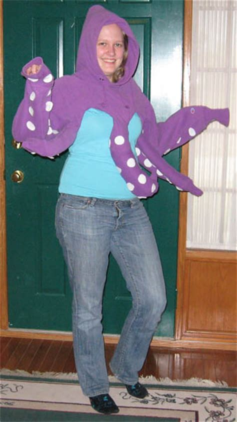 homemade hoodie octopus costumes costume pop