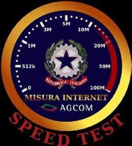 test della connessione usare misurainternet speed test per controllare velocit 224