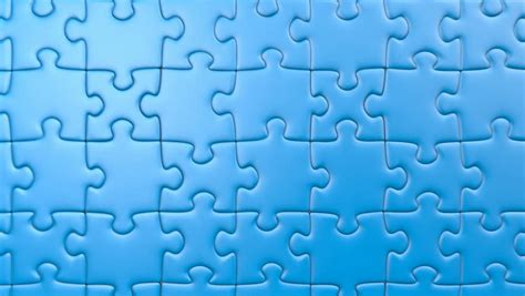 puzzle pattern illustrator jigsaw puzzle slowly turn background stock footage video