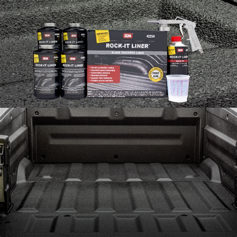 get your truckbed s dignity back with improved rock it liner