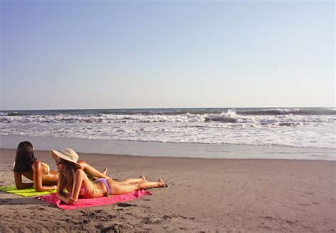 Comfortable Stool El Tunco Beach Experience Salvadorean Tours El