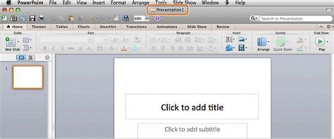 free powerpoint templates for mac 2011 create new blank presentation in powerpoint 2011 for mac 4